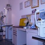 Sala misurazione della vista