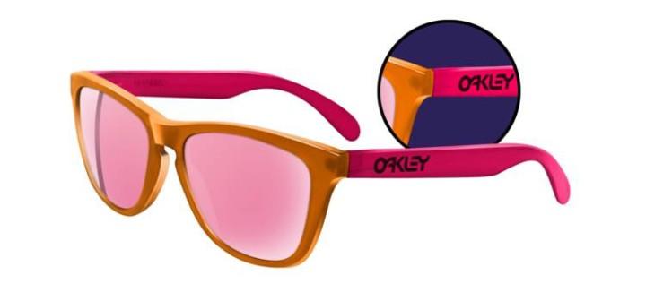 FROGSKINS COLLECTORS EDITIONS Blacklight Orange/Pink/Pink Iridium